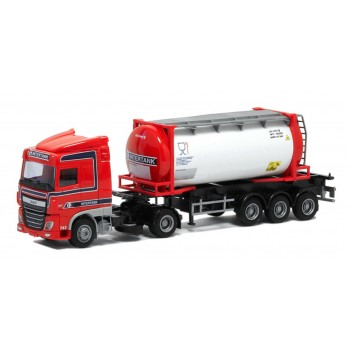 "AWM 53641 DAF XF Euro 6  24ft. tankcontainer ""Intertank"""