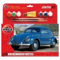 Airfix 55207 Medium Starter Set - VW Beetle