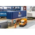 Faller 180843 Container Hi-Cube P&O 40'