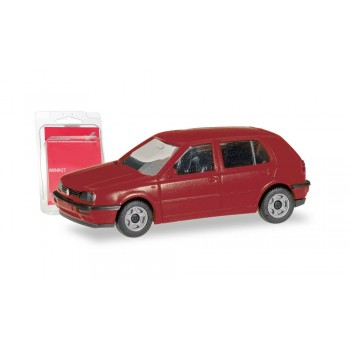 Herpa 012355-008 VW Golf III rood (Minikit)