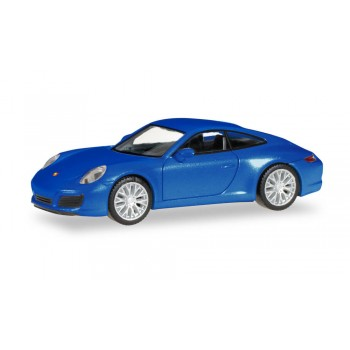 Herpa 038546-002 Porsche 911 Carrera 2 S Coupe blauw metallic