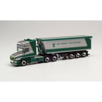 Herpa 314015 Scania Hauber TL 6x4 St.Sz. Van Triest (NL) 1:87