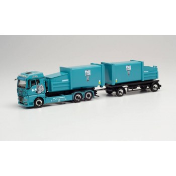 Herpa 314152 MAN TGX GM Pr.Hz. KS Containerdienst 1:87