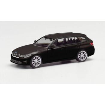 Herpa 420839-002 BMW 3 Touring zwart 1:87