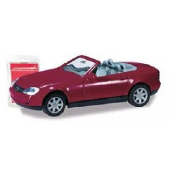 Herpa 012188006 Minikit Mercedes-Benz SLK bordeauxviolett