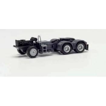 Herpa 085328 Fahrgestell MAN 6x4 mit Heckabstützung und Konsole für Ladekran