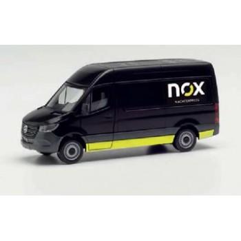 """Herpa 096102 Mercedes-Benz Sprinter `18 Kasten """"NOX"""""""