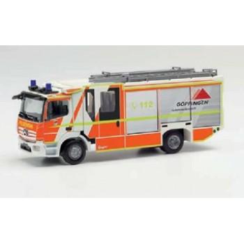 Herpa 096126 Mercedes-Benz Atego `13 Ziegler Z-Cab