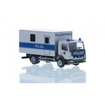 Rietze 72510 Mercedes-Benz Atego '10 Koffer Transport Polizeipferde 1:87