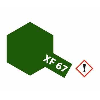 Tamiya 81367 XF-67 Nato groen 23ml bottle