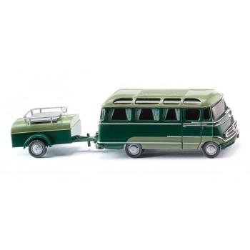 Wiking 026004 Panoramabus mit Anhänger (MB O 319)