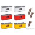 Kibri 38627 Container gebouwen H0 (6 st)