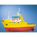 Krick RO01106 RC-Schip Happy Hunter ( Mammoet ) 1:50 bouwpakket