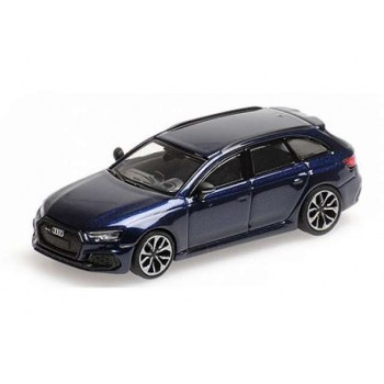 Minichamps 870018211 Audi RS4 Avant blauw 2018