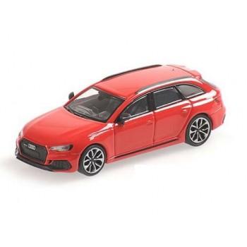 Minichamps 870018212 Audi RS4 Avant rood 2018