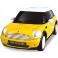 Puzzle Fun 3D Mini Cooper geel