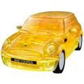 Puzzle Fun 3D Mini Cooper transp. geel