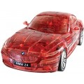 Puzzle Fun 3D BMW Z4 transp. rood