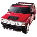Puzzle Fun 3D Hummer H2 rood