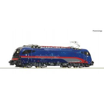 "Roco 70523 Electrische locomotief 1216 012-5 ""Nightjet"", ÖBB, Sound"
