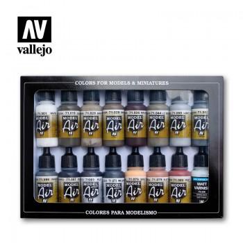Vallejo 71194 Model Air Weathering Set