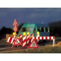 Busch 5937 Wegwerkzaamheden/verkeers borden