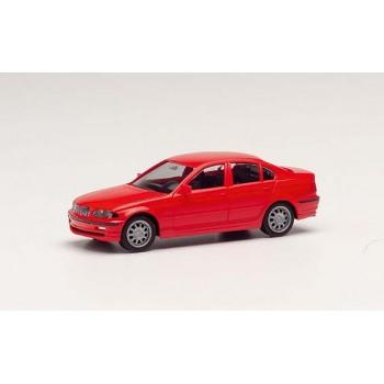 Herpa 012416007 BMW 3 E46, rood (Minikit)