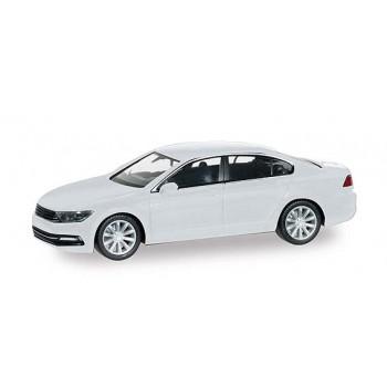 Herpa 038416002 VW Passat Limousine, wit metallic