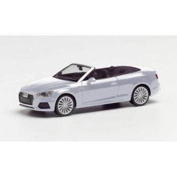 Herpa 038768002 Audi A5 Cabrio, zilver metallic