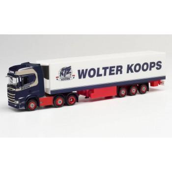 """Herpa 312547 Scania CS HD 6x2 """"Wolter Koops"""""""