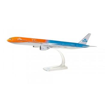 Herpa 611275001 Boeing 777-300ER KLM Orange Pride 100 jaar (NL)