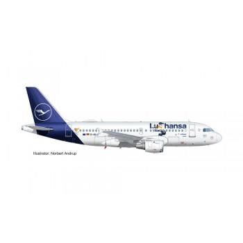 Herpa 612722 Airbus A319 Lufthansa LU 2020 Verden