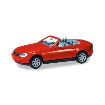 Herpa 012188004 Mercedes Benz SLK, rood (MK) 1:87