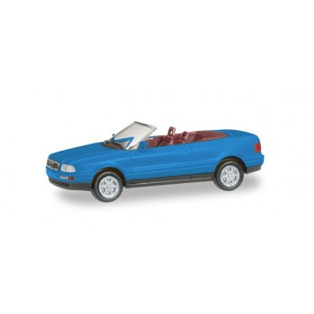 Herpa 012287005 Audi Cabrio, blauw (Minikit) 1:87