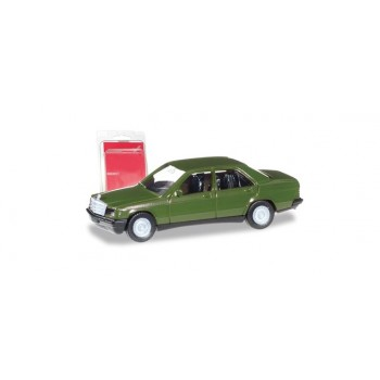 Herpa 012409006 Mercedes Benz 190 E, groen (Minikit)