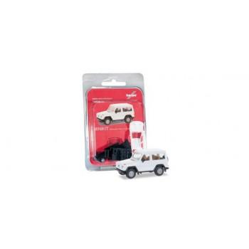 Herpa 012645007 Mercedes Benz GModell, wit (MK) 1:87