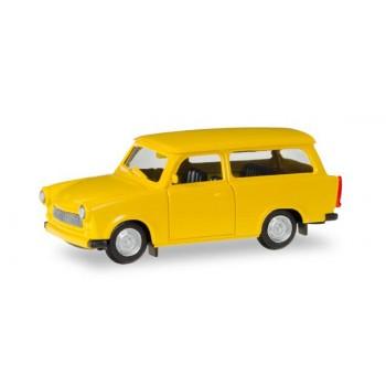 Herpa 012942 Trabant 601 Universal, geel (MK) 1:87