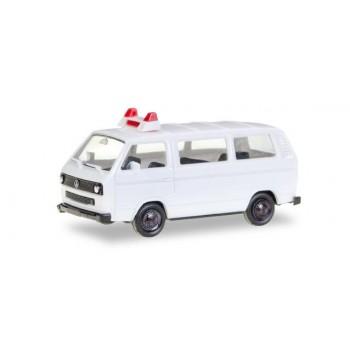 Herpa 012966 VW T 3 Bus, wit (MK) 1:87