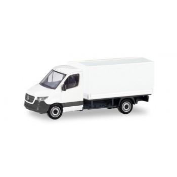 Herpa 013703 Mercedes Benz Sprinter Prit. Wit (Minikit)