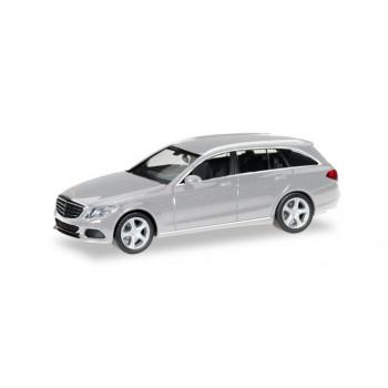 Herpa 038393004 Mercedes Benz C Combi, zilver metallic