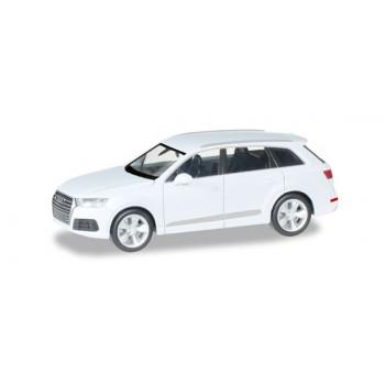 Herpa 038447003 Audi Q7, wit metallic 1:87