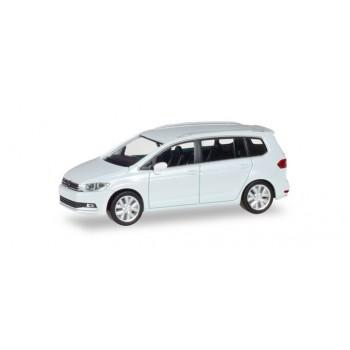 Herpa 038492-003 VW Touran, wit metallic