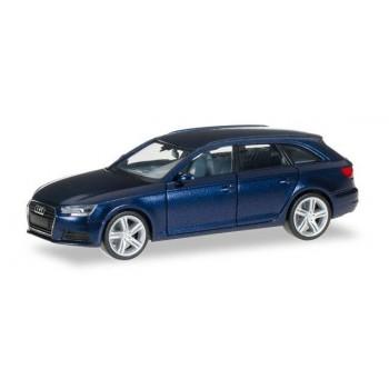Herpa 038577002 Audi A4 Avant, blauw metallic 1:87