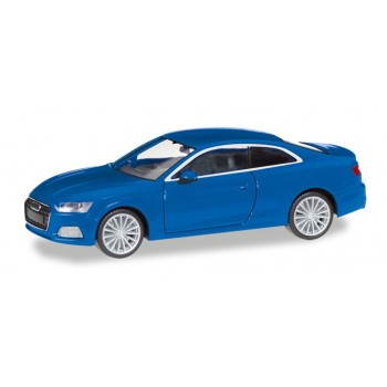 Herpa 038669-002 Audi A5 Coupé, blauw metallic 1:87