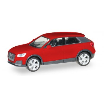 Herpa 038676002 Audi Q2, rood metallic 1:87