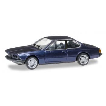 Herpa 038683 BMW 635 CSI, blauw