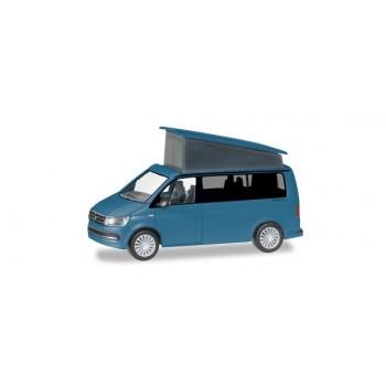 Herpa 038744 VW T6 California, blauw met.
