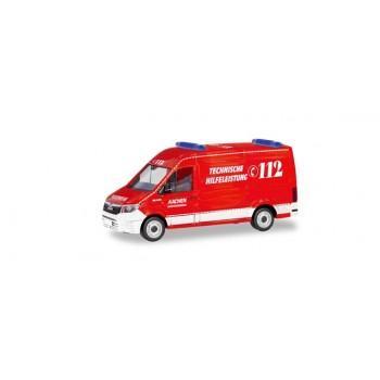 Herpa 094900 MAN TGE Feuerwehr Aachen / Technische Hilfeleistung