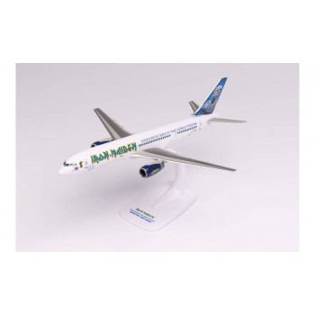 Herpa 613255 Boeing 757-200 Iron Maiden Ed Force One Tour '08 - 1:200