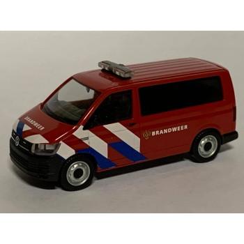 Herpa 941907 Volkswagen T6 Brandweer ***Nieuwe Striping***
